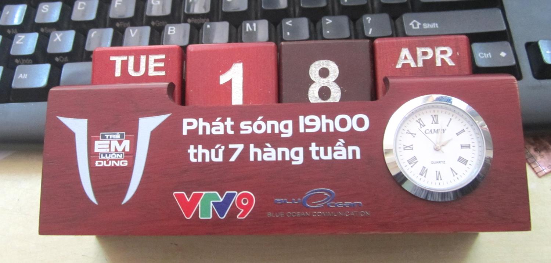 Qùa tặng Nét ta xuất hiện trong chương trình Trẻ em luôn đúng của VTV9